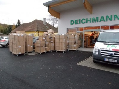 Errichtung Deichmann Neulengbach